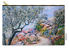 Paseo De Flores Carry-all Pouch by Rosemary Colyer