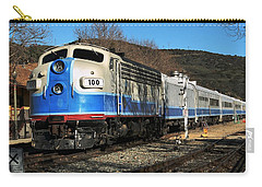 Carry-all Pouch featuring the photograph Passenger Train by Michael Gordon