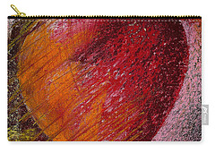 Passion Heart Carry-all Pouch by David Patterson