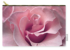 Passion Pink Rose Flower Carry-all Pouch