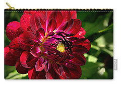 Passionate Dahlia Carry-all Pouch