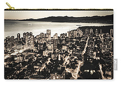 Carry-all Pouch featuring the photograph Passionate English Bay. Mccclxxviii By Amyn Nasser by Amyn Nasser
