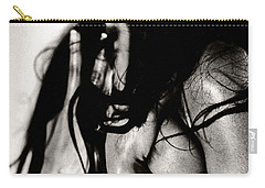 Carry-all Pouch featuring the photograph Passionate African Nude Woman - Stone Town Editions by Amyn Nasser