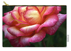 Passionate Shades Of A Perfect Rose Carry-all Pouch