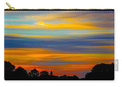 Pastel Sunrise Carry-all Pouch by Mark Blauhoefer