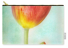 Pastel Tulip Carry-all Pouch