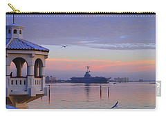 Pastel Uss Lexington Carry-all Pouch by Leticia Latocki