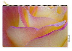 Carry-all Pouch featuring the photograph Pastels by David Millenheft
