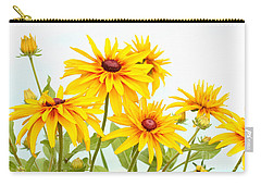 Patch Of Black-eyed Susan Carry-all Pouch