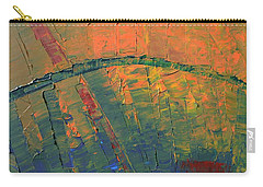 Patches Of Red Carry-all Pouch