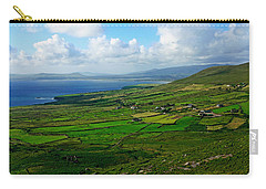 Patchwork Landscape Carry-all Pouch by Aidan Moran