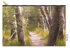 Carry-all Pouch featuring the photograph Path 1 by Pamela Cooper