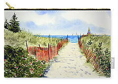 Path To East Beach-watch Hill Ri Carry-all Pouch by Joan Hartenstein
