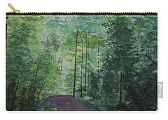 Path To The River Carry-all Pouch by Martin Howard