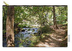 Carry-all Pouch featuring the photograph Pathway Along The Springs by John M Bailey