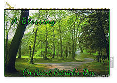 Pathway Saint Patrick's Day Greeting Carry-all Pouch