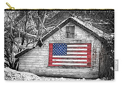 Patriotic American Shed Carry-all Pouch