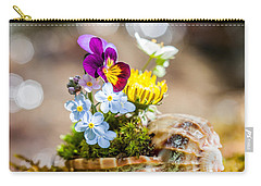 Patterns In Nature Carry-all Pouch by Aaron Aldrich