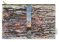 Carry-all Pouch featuring the painting Pause by Thomasina Durkay