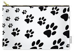 Paw Prints Carry-all Pouch