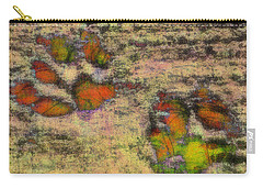 Paw Prints Like Butterflies Muted Carry-all Pouch