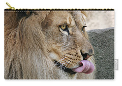 Carry-all Pouch featuring the photograph Pbbbt by Judy Whitton