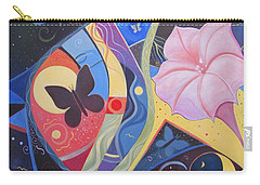 Peace And Flow Carry-all Pouch by Helena Tiainen