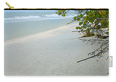 Peace And Quiet On Sanibel Island Carry-all Pouch by Jennifer White