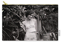 Carry-all Pouch featuring the photograph Peace Chick by Greg Allore