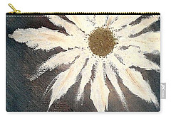 Carry-all Pouch featuring the painting Peace Flower by Jacqueline McReynolds
