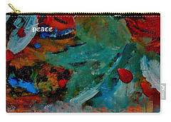 Carry-all Pouch featuring the painting Peace by Lisa Kaiser