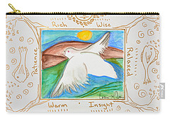 Peace Of Heaven Carry-all Pouch by Cassie Sears