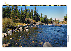 Peace On The Spokane River 2 Carry-all Pouch