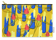 Peace Will Find A Way Carry-all Pouch by Paulo Guimaraes
