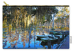 Peaceful Boat Landing By Jan Marvin Carry-all Pouch