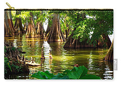 Peaceful Cypress Trees  Carry-all Pouch