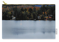 Peaceful Evening At The Lake Carry-all Pouch by Terry DeLuco