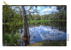 Carry-all Pouch featuring the photograph Peaceful Florida by Timothy Lowry