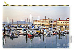 Carry-all Pouch featuring the photograph Peaceful Marina by Kate Brown