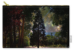 Magical Night At The River Carry-all Pouch by Bobbee Rickard