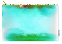 Peaceful Noise Carry-all Pouch by Anita Lewis