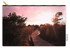 Carry-all Pouch featuring the photograph Peaceful Path by Karen Silvestri