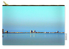 Peaceful Pensacola Beach Carry-all Pouch by Faith Williams