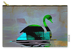 Peaceful Swan On A Lake Carry-all Pouch