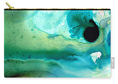 Carry-all Pouch featuring the painting Peaceful Understanding by Sharon Cummings