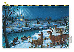 Peaceful Winters Night Carry-all Pouch