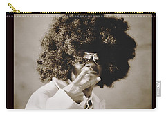 Carry-all Pouch featuring the photograph Peaceman by Alice Gipson
