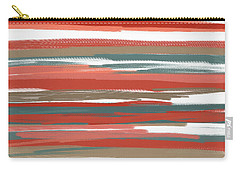 Peach And Neutrals Carry-all Pouch by Lourry Legarde