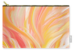 Peach Flare Carry-all Pouch by Lourry Legarde