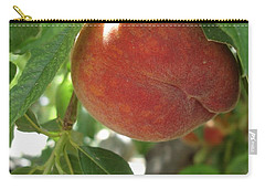 Peach Carry-all Pouch by Kerri Mortenson